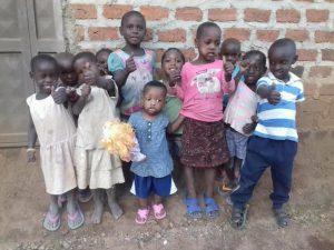 Waisenkinder in Uganda