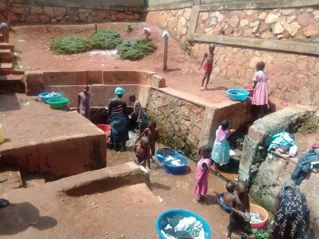 Der Waschplatz